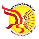 Bhagat Phool Singh Mahila Vishwavidyalaya (BPSMV)